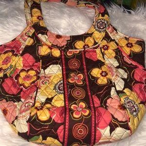 Vera Bradley purse and matching wallet set